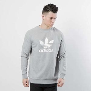Bluza Adidas Originals Trefoil Crew medium grey heather CY4573