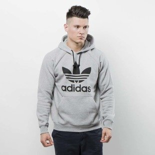 Bluza Adidas Originals Trefoil Hoody medium grey heather BR4164