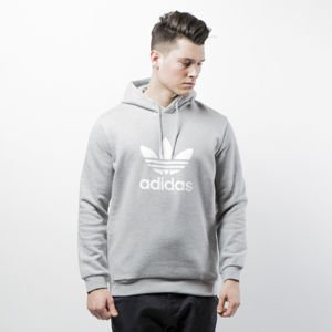 Bluza Adidas Originals Trefoil Hoody medium grey heather CY4572