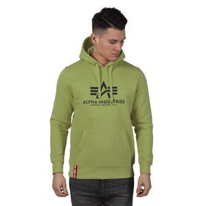 Bluza Alpha Industries Basic Hoody light olive