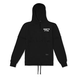 Bluza Backyard Cartel Background Hoody Half Zip black