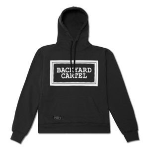 Bluza Backyard Cartel Hoody Label Logo black