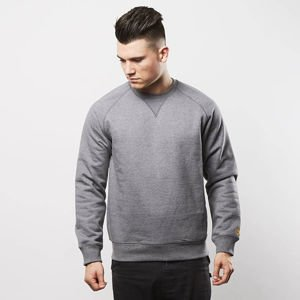 Bluza Carhartt WIP Chase Sweat dark grey heather / gold