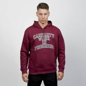 Bluza Carhartt WIP Hooded Wip Division Sweat mulberry