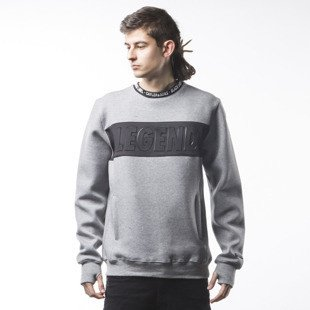 Bluza Cayler & Sons BL Legend Crewneck grey heather / black (BL-CAY-SS16-AP-13)