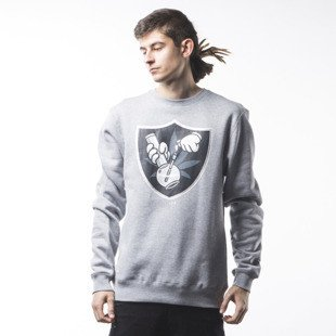 Bluza Cayler & Sons GL 420 Crewneck  grey heather / black / grey (GL-CAY-SS16-AP-02)