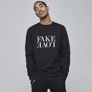 Bluza Cayler & Sons WHITE LABEL Sweatshirt WL Fake Love black / white