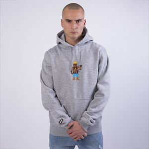 Bluza Cayler & Sons WHITE LABEL WL Constructed Hoody heather grey / mc