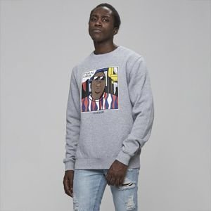 Bluza Cayler & Sons White Label Biggenstein Crewneck heather grey / multicolor