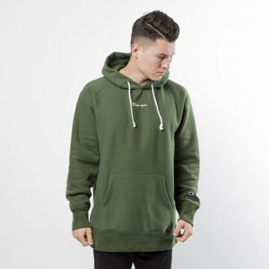 Bluza Champion Hooded Full Zip Sweatshirt green