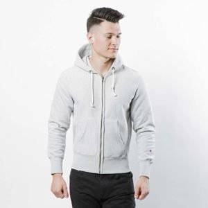 Bluza Champion Sweatshirt Reverse Weave Full Zip Hooded light heather grey 209142/F16/8856