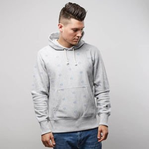 Bluza Champion Sweatshirt Reverse Weave Hoodie light heather grey 210978/F17/EM004