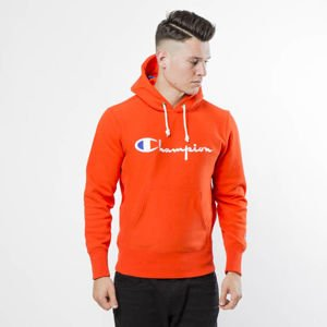 Bluza Champion Sweatshirt Reverse Weave Hoodie orange 212574/F18/OS013