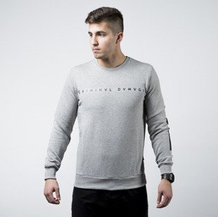 Bluza Criminal Damage Gala Sweater grey / black