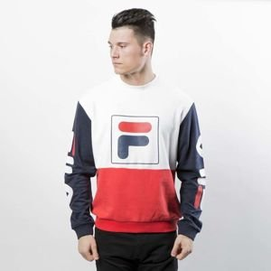 Bluza Fila Jamie Crew Sweat black iris / high risk red / bright white