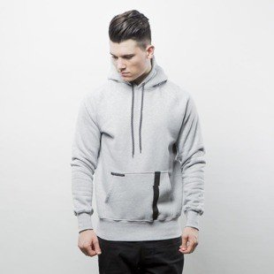Bluza Intruz sweatshirt Arch Hoodie grey hather