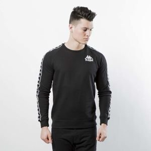 Bluza Kappa Authentic Hassan Crewneck black