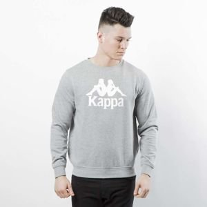 Bluza Kappa Authentic Zenim Crewneck grey mid melange