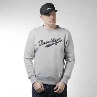 Bluza Majestic Athletic Legros Crew Sweat Brooklyn Dodgers marl grey (A3BRO5217)