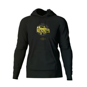 Bluza Mass Denim Golden Car Hoody black 20TH ANNIVERSARY