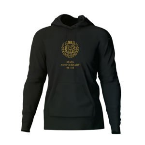 Bluza Mass Denim Golden Crown Hoody black 20TH ANNIVERSARY