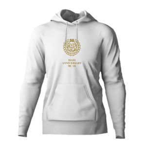 Bluza Mass Denim Golden Crown Hoody white 20TH ANNIVERSARY