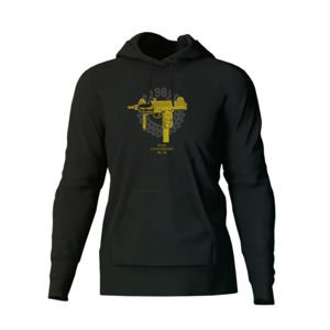 Bluza Mass Denim Golden Uzi Hoody black 20TH ANNIVERSARY