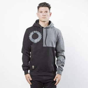 Bluza Mass Denim Sweatshirt Corner Hoody black