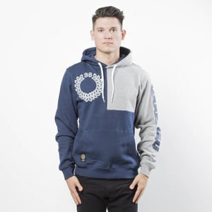 Bluza Mass Denim Sweatshirt Corner Hoody navy
