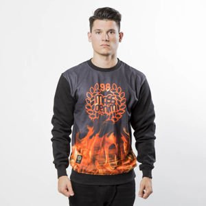Bluza Mass Denim Sweatshirt Crewneck Burn Babylon black