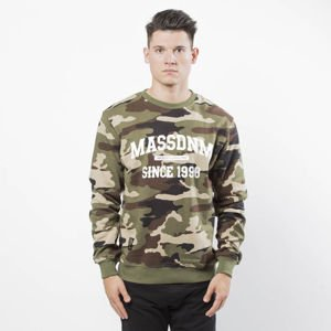 Bluza Mass Denim Sweatshirt Crewneck Campus woodland camo