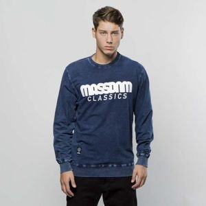 Bluza Mass Denim Sweatshirt Crewneck Classics dark blue LIMITED EDITION