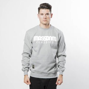 Bluza Mass Denim Sweatshirt Crewneck Classics light heather grey
