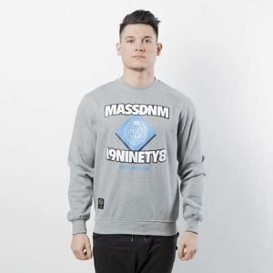Bluza Mass Denim Sweatshirt Crewneck Creator light heather grey