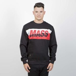 Bluza Mass Denim Sweatshirt Crewneck Curing Cut black