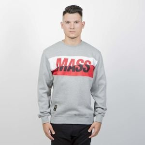 Bluza Mass Denim Sweatshirt Crewneck Curing Cut light heather grey