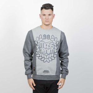 Bluza Mass Denim Sweatshirt Crewneck False Start heather grey
