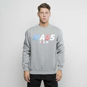 Bluza Mass Denim Sweatshirt Crewneck Grand medium heather grey