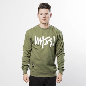 Bluza Mass Denim Sweatshirt Crewneck Signature khaki