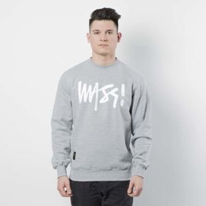 Bluza Mass Denim Sweatshirt Crewneck Signature light heather grey