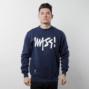 Bluza Mass Denim Sweatshirt Crewneck Signature navy