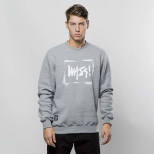 Bluza Mass Denim Sweatshirt Crewneck Street Sign medium heather grey