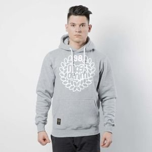 Bluza Mass Denim Sweatshirt Hoody Base light heather grey