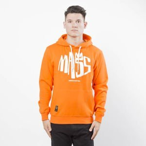 Bluza Mass Denim Sweatshirt Hoody Crown orange