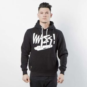 Bluza Mass Denim Sweatshirt Hoody Marker black