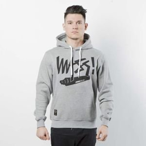 Bluza Mass Denim Sweatshirt Hoody Marker light heather grey