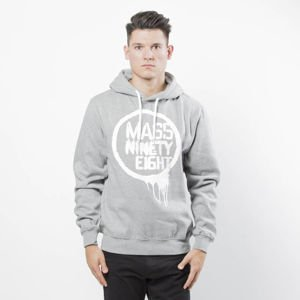 Bluza Mass Denim Sweatshirt Return Hoody light grey heather