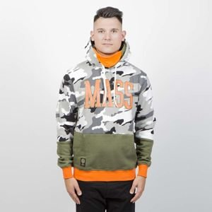 Bluza Mass Denim Sweatshirt Truman Hoody winter camo