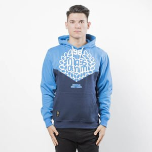Bluza Mass Denim Sweatshirt V Hoody blue