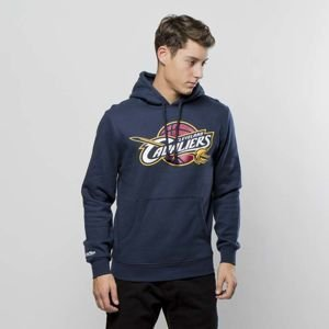 Bluza Mitchell & Ness Cleveland Cavaliers navy Team Logo Pullover Hoody